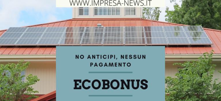 Ecobonus 110%: interventi di riclassificazione energetica gratuiti